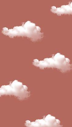 Cute Patterns Wallpaper, Aesthetic Pastel Wallpaper, Aesthetic Backgrounds, Colorful Wallpaper, Aesthetic Wallpapers, Plain Wallpaper Iphone, Iphone Homescreen Wallpaper, Cloud Wallpaper, Iphone Background Wallpaper