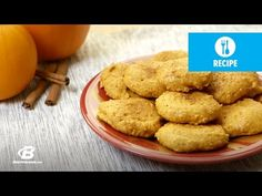 Pumpkin Snickerdoodle Protein Cookies | Quick Recipes - YouTube