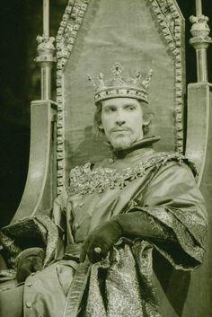 "1964 - David Warner as ""Richard II"" at the Royal Shakespeare Theatre, Stratford upon Avon"