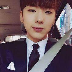 ☓ [160311] Talk Tok Update © Fancafe | #monstax #몬스타엑스  #yookihyun #유기현 #기현 #Kihyun ♡ Wow he's actually taking decent selfies now