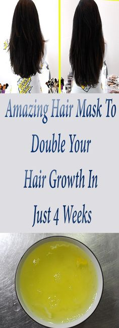 Amazing Hair Mask To Double Your Hair Growth In Just 4 Weeks – My Life My Health