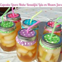 Mason  jars and no insects!