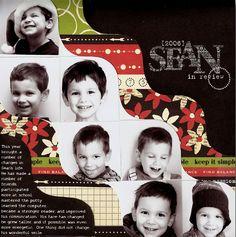 Sean In Review (Scrapbook Dimension Magazine) - Scrapbook.com
