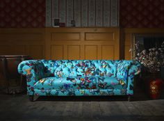 Christian Lacroix. Sofa Workshop. Butterfly's. Sofa. Interiors. Bright Colours. www.naturalhistory.co.uk
