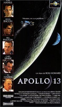 Apollo 13. One of the best space-themed movies and it's based on what happened on the ill-fated Apollo 13 mission. Worth a watch.