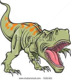 T rex - Getting ideas for Christians room.