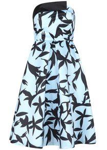 Off-shoulder Floral Print Dress