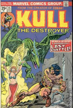 Kull the Conqueror (1971 1st Series) 15