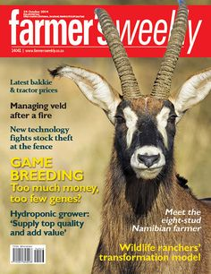 24 October - Game breeding - too much, too few genes? Tractor Price, Agricultural Sector, Hydroponics, New Technology, Digital, 24 October, Farmers, South Africa, Southern