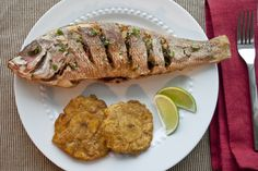 Fried Red Snapper - Colombian Pargo Rojo Frito