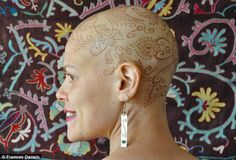 Henna Crown: The Natural Henna Used on Women with Bald Head ...