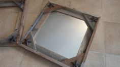 Mirror Frames, Western Decor , wooden , lot of 2 , Free Shipping