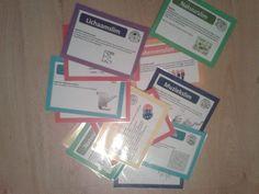 Taal/spellingkaarten gebaseerd op de meervoudige intelligentie Co Teaching, Creative Teaching, Busy Boxes, Atlas, School Items, Classroom Language, Kids Education, Fun Learning, Circuit