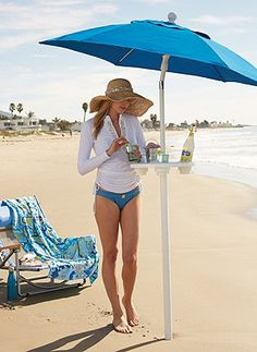 Spend your day relaxing at the shore, not chasing umbrellas down the beach!