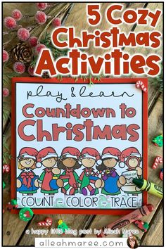 Looking for some new, cozy ideas for making Christmas even more special for your toddler, preschoolers, and other little ones! Complete with Christmas book recommendations, Christmas learning ideas, and some free Christmas activities, there's something for everyone. Click the pin to check out all the Christmas coziness for your little ones!