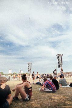 Roskilde Festival Sitting at Orange | Scandinavia Standard