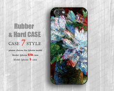 abstract  floral  paiting silicone cases  Iphone 4 by case7style, $7.99