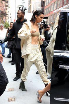 NYFW street style Kendall Jenner