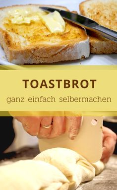 With this recipe you can bake your own delicious toast bread. - With this recipe you can bake your own delicious toast bread. You can find the whole recipe on my b - My Recipes, Baking Recipes, Whole Food Recipes, French Recipes, Lamb Stew, Evening Meals, French Food, Food Items, Vegetarian Recipes