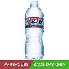 924d484b56 Arrowhead Spring Water 16 oz. Bottles 40-count or Kirkland brand Kirkland  Brand,