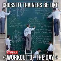 Crossfit Trainers Be Like