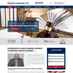 Criminal Law Firm - Home Page Website is used by Individuals that are in need of a criminal defense attorney. Focusing on drunk driving and other ...