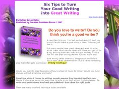 Tips On Presenting Your Story For Online Critique WEbook Blog