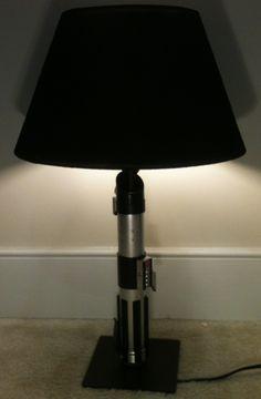 HOWTO: DIY Star Wars Light Saber Lamp    Craft Geek Movies Sci-Fi Toys