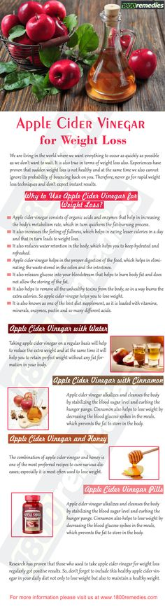 Now, I am sure that after knowing the effectiveness of apple cider vinegar for weight loss, your next question would be – how to use apple cider vinegar for weight loss? Well, there are various ways in which you can use apple cider vinegar to lose weight effectively and naturally.