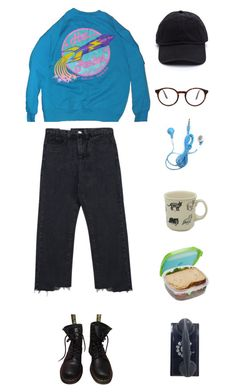 """You're breaking the girl"" by origami-kitten ❤ liked on Polyvore featuring Chicnova Fashion, Fishs Eddy, Dr. Martens and STELLA McCARTNEY"