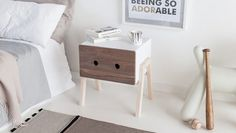 Ottone - Bedside Table by Laura Pirrone for Formabilio