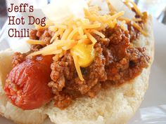 Hands-down the best hot dog chili I've made yet! It's now my go-to recipe @Allrecipes.com