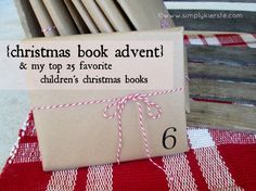 {christmas book advent & my 25 favorite christmas children's books!} - Simply Kierste