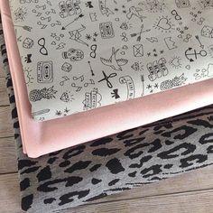 Une jolie sélection de tissus! // A nice fabric selection! #tissuandco #aimecommemarie #tissu #fabric franceduvalstalla