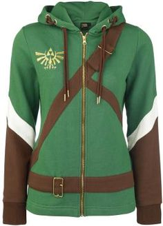 The Legend of Zelda  Hooded zip  »Cosplay Zip-Hoodie« | Buy now at EMP | More Fan merch  Hooded jackets  available online ✓ Unbeatable prices!
