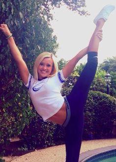 Cheer athletics jamie andries stunting