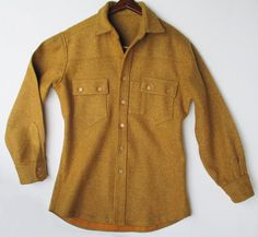 Men's Handmade Indian-Maize Colored Thick Wool by FourCoquettes