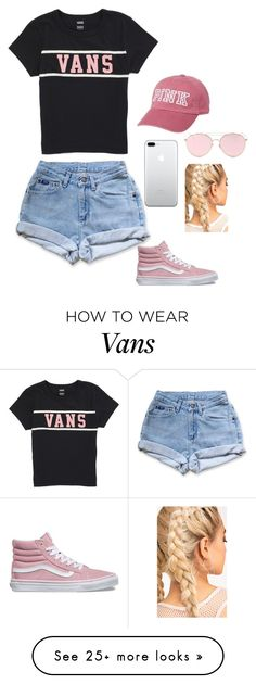 """Untitled #528"" by justinbiebz94 on Polyvore featuring Vans, Levi's, Victoria's Secret and LMNT"