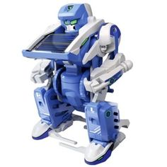 This solar-powered do-it-yourself robot is a real miracle of invention! You do not need batteries, since the robot uses only sunlight to operate. Dexterity test the robot also piled up for yourself! Includes instructions with pictures kasaukseen.