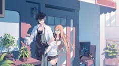 Artist: Pixiv Id 2276805 | Shin Megami Tensei: Persona 5 | Kurusu Akira | Morgana | Sakura Futaba