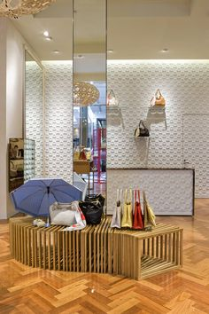 Oroton store by Red Design Group, Doncaster Melbourne store design