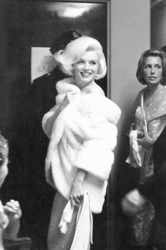 Marilyn Monroe and her publicist Pat Newcomb