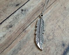 Large Feather Necklace » Boho » Birds of a feather flock together
