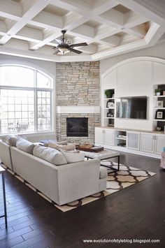 Corner fireplace with built-ins sweet home – Stone fireplace living room Home And Living, Room Design, Room Remodeling, Fireplace Built Ins, Family Room Design, Living Room With Fireplace, Living Room Remodel, Corner Fireplace, Corner Fireplace Living Room