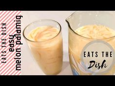 Need a thirst quencher this summer? Cool off with this easy Melon Palamig with just 3 ingredients. It has a rich and creamy taste that brings you a refreshin. Refreshing Summer Drinks, The Dish, 3 Ingredients, Glass Of Milk, Cantaloupe, Make It Yourself, Dishes, Eat, Youtube