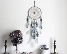 Frozen . attrape-rêves bleu et gris napperon par BoudoirDuChaman