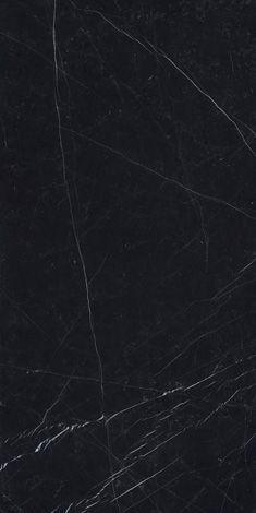 Dark marquina Marmi maximum, black marble/granite effect floor and wall coverings Marbel Texture, Floor Texture, Tiles Texture, Stone Texture, Dark Granite, Granite Stone, Porcelain Black, Porcelain Tile, Black Tiles