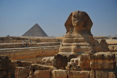 Sphinx and Menkaure Pyramid