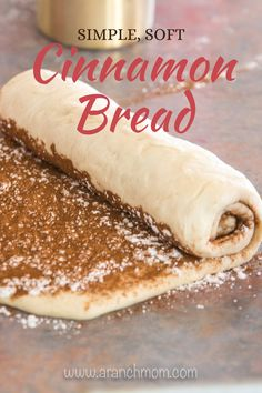 The best cinnamon bread recipe! Not too sweet, easy to prepare, great beginner bread recipe. Bread Recipes, Baking Recipes, Cookie Recipes, Dessert Recipes, Easy Cinnamon Bread Recipe, Cinnamon Recipes, Cinnamon Rolls, Beginners Bread Recipe, Bread Bun
