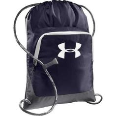 4d80f86f53f8b Under Armour Exeter Sackpack - Midnight Navy Graphite White